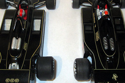 confronto lotus78 retro