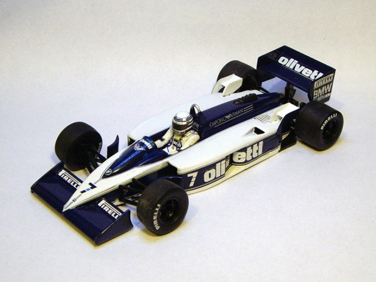 Brabham BT55 by Minichamps