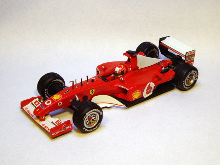 Ferrari F2002 by Hot Wheels