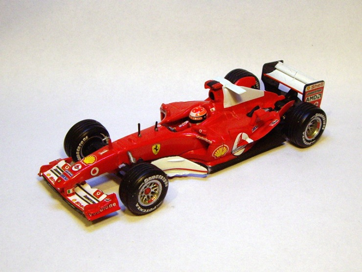 Ferrari F2004 by Hot Wheels