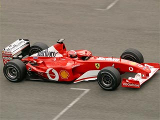 Ferrari F2002 (Michael Schumacher - GP USA 2002)